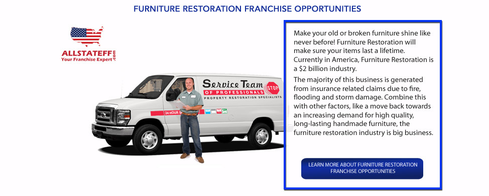 FURNITURE RESTORATION FRANCHISE OPPORTUNITIES: ALLSTATEFF.COM – FRANCHISE EXPERT
