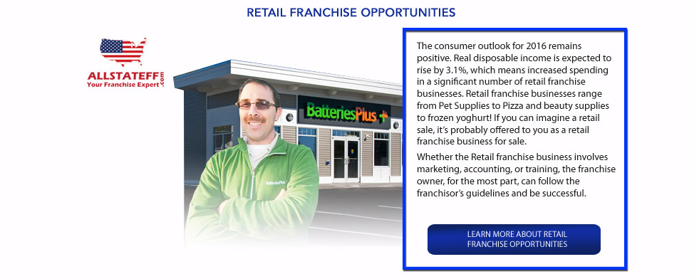RETAIL FRANCHISE OPPORTUNITIES: ALLSTATEFF.COM – FRANCHISE EXPERT