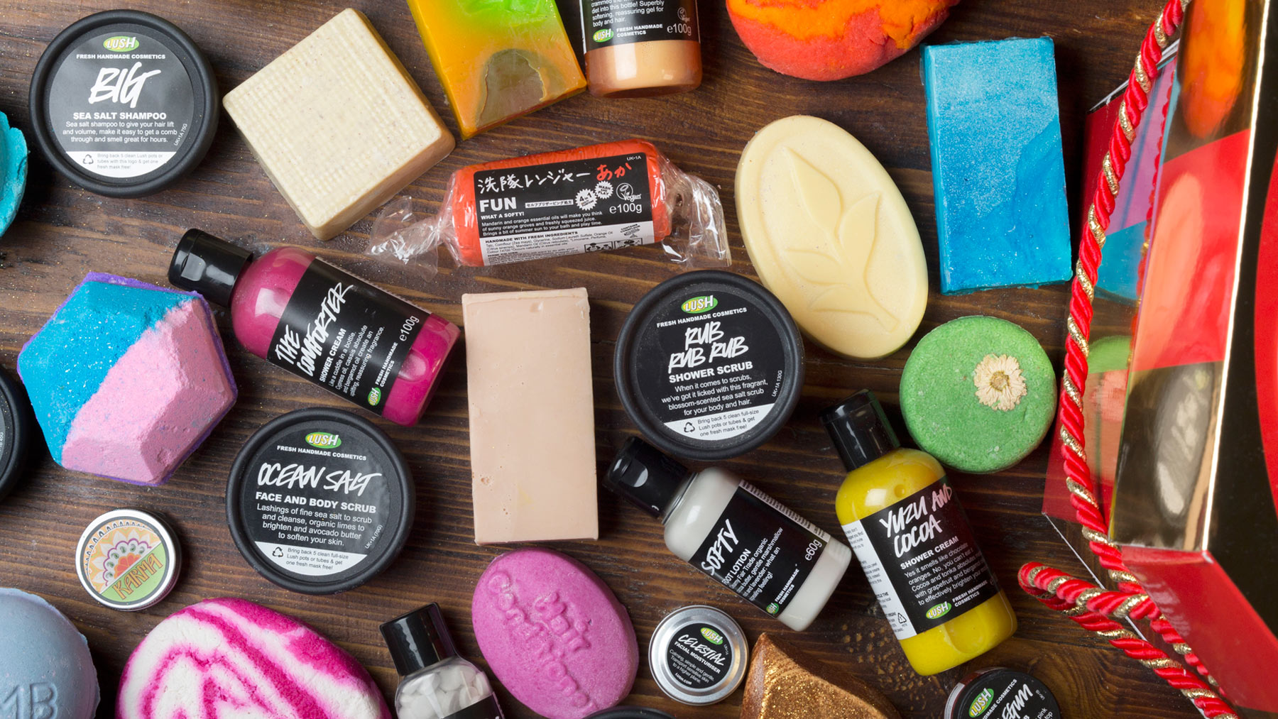 Beauty Products Get Fresh