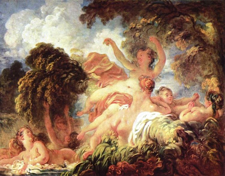 Inside The Rococo Art Movement That Dominated The Late Baroque Rococo Paintings The Bathers
