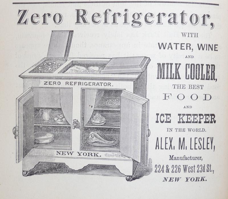 Thomas Elkins Inventor Refrigerator