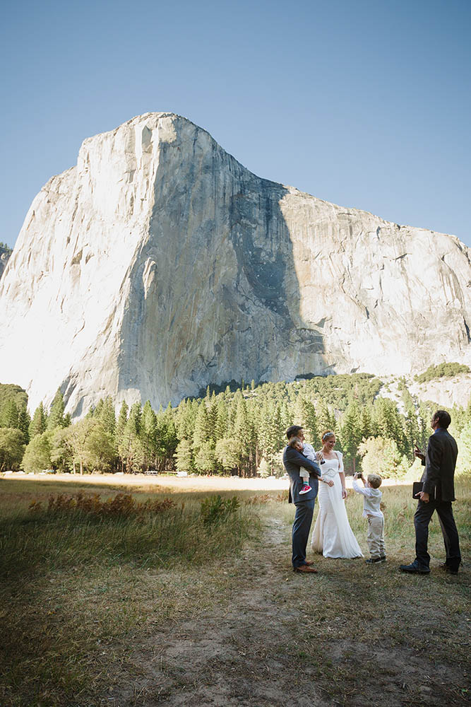 Bridalveil Fall Yosemite Wedding