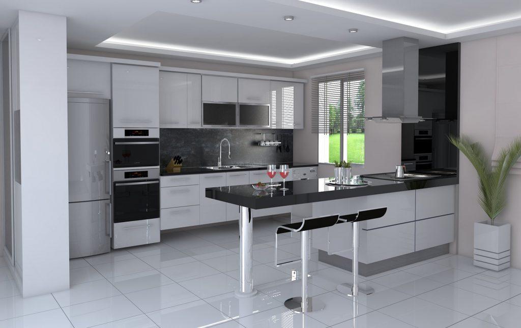 L Shaped Kitchens Designs