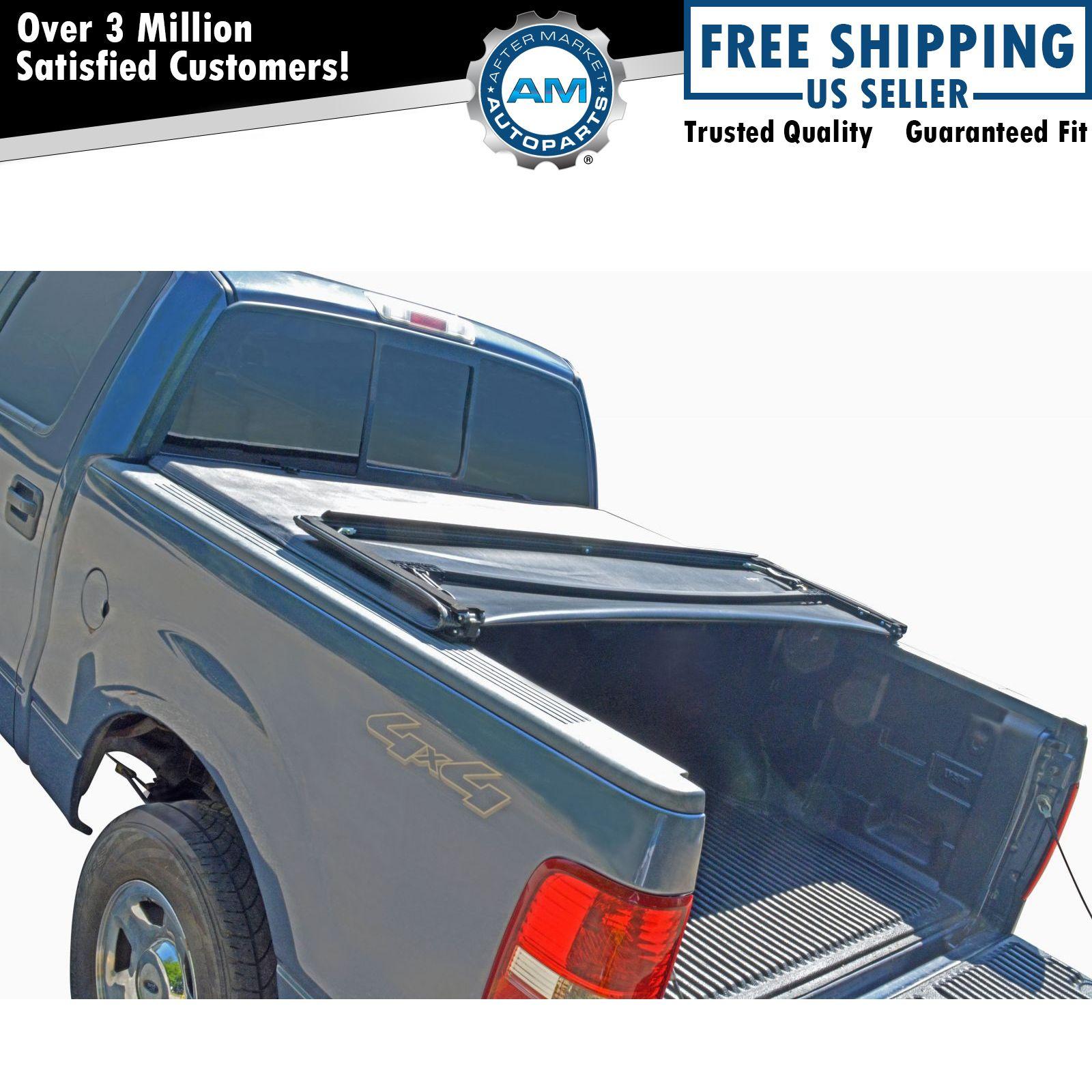 Tonneau Cover Soft Tri Fold for Dodge Dakota Pickup Truck ...