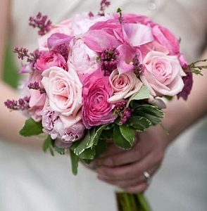 bridal bouquet soft feelings
