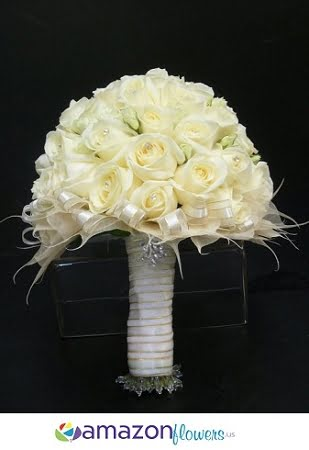 bridal bouquet white wonders