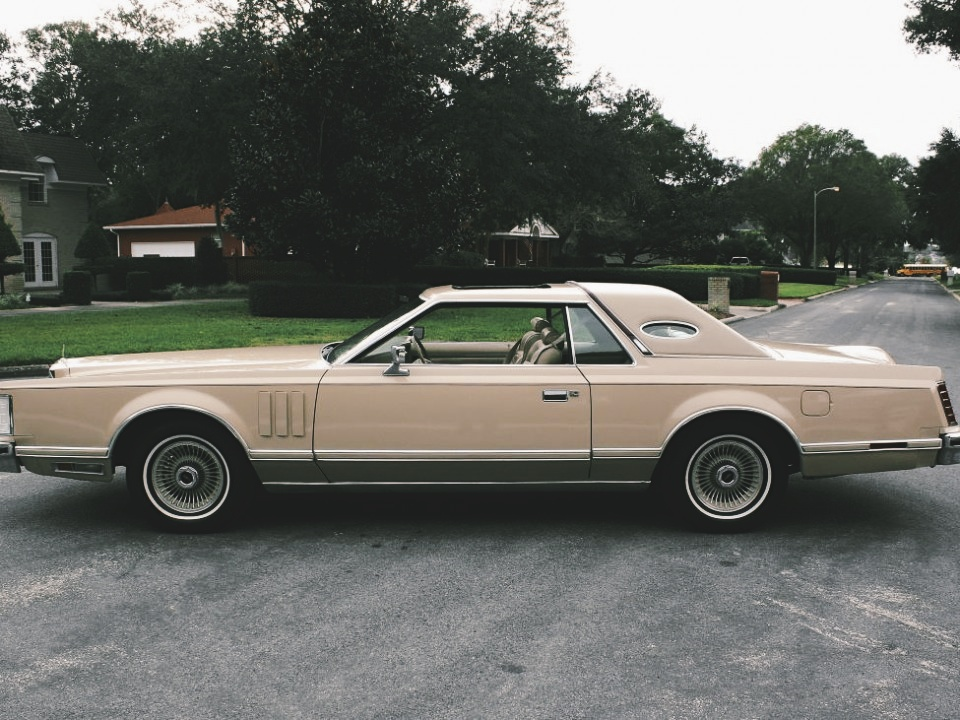 1970 Lincoln Town Coupe