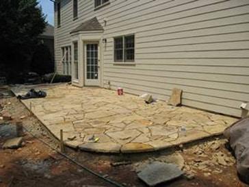 Atlanta Patios Atlanta Stone Patios Flagstone Stamped