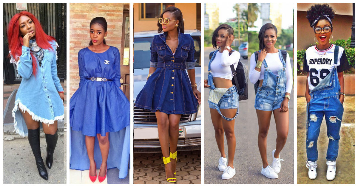 10 Awesome Females Rocking Denim Outfits.