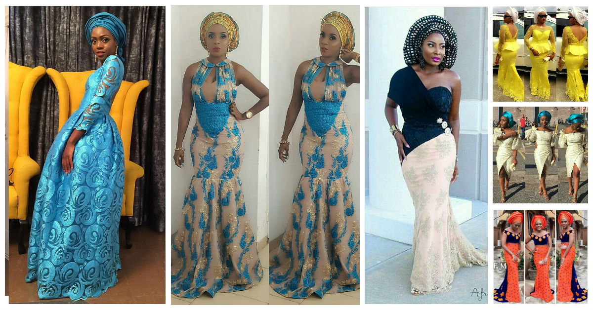 Mouth Watering Trending Asoebi Styles amillionstyles.com