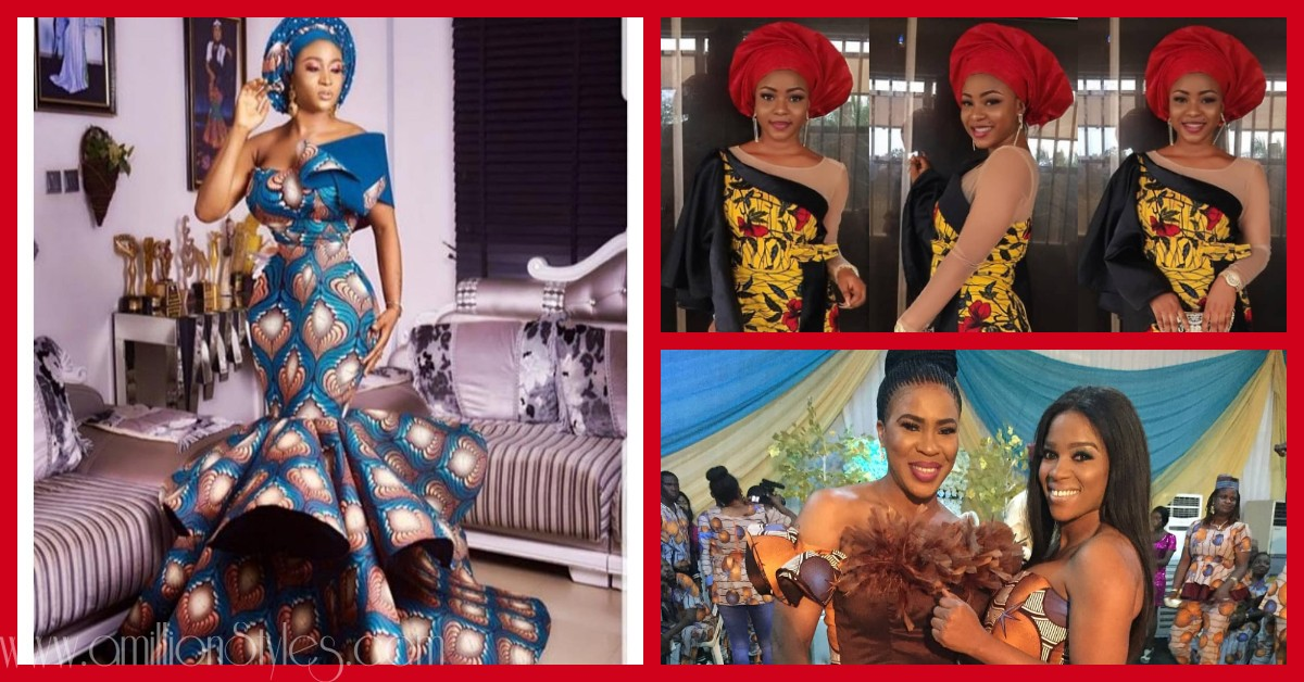 When The Stylish Chics Serve The Stylish Ankara Styles Hawt!