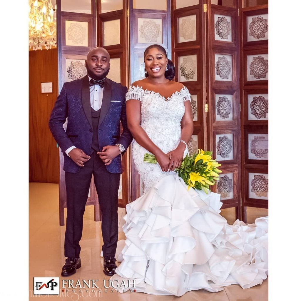 Gbemi Olateru Made A Gorgeous Bride As She Wed Femisoro Ajayi Over The Weekend