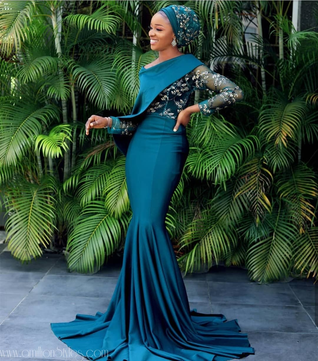 Latest Lace Asoebi Styles Volume 26 auto draft BEAUTIES! GIVE THEM HOT-HOT WITH THESE ASO EBI STYLES THIS WEEKEND asoebi Bella  houseofkhad amillionstyles