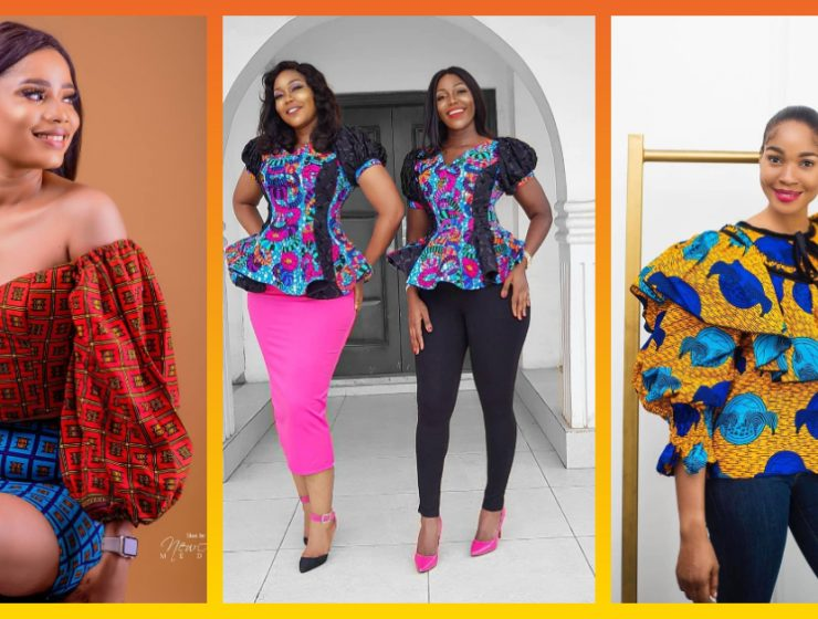 Drool Over These Hawt 7 Ankara Tops