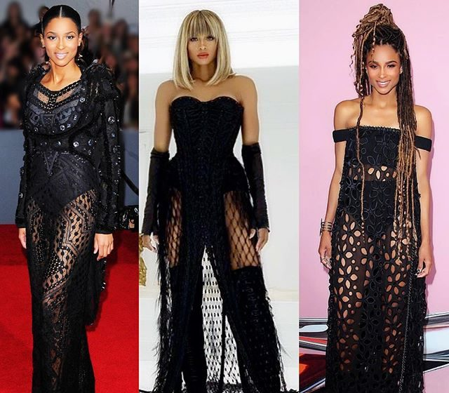 See 7 Times Ciara Rocked Beautiful Sheer Dresses