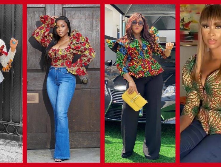 These Super Cute Ankara Tops Are For Ladies Who Are Fashionable