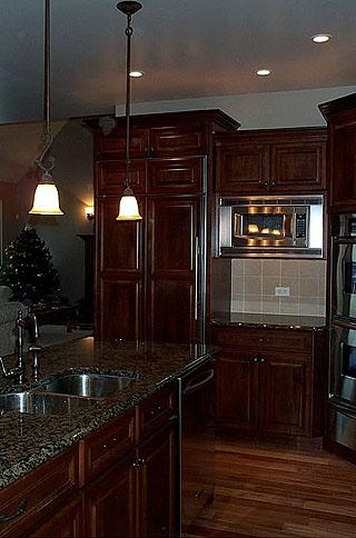 High End Kitchen Remodel 7 Amish Custom Furniture