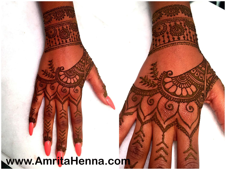 Rihanna Hand Tattoo