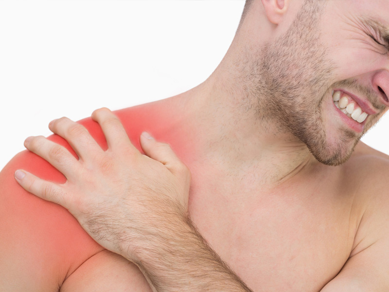 Physiotherapy similar to shoulder cortisone injection