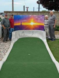Visit Ludington   Ludington Area Jaycees Mini Golf Course By 2015  time and elements had taken their toll on the Jaycees Mini Golf  Course so the Jaycees pursued a complete overhaul of the course at that  time