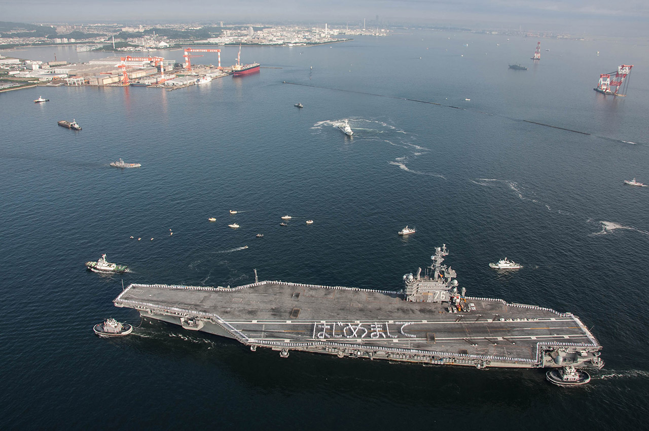 U S Navy Aircraft Carrier Fleet