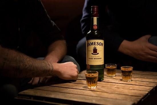 Whiskey Jameson.