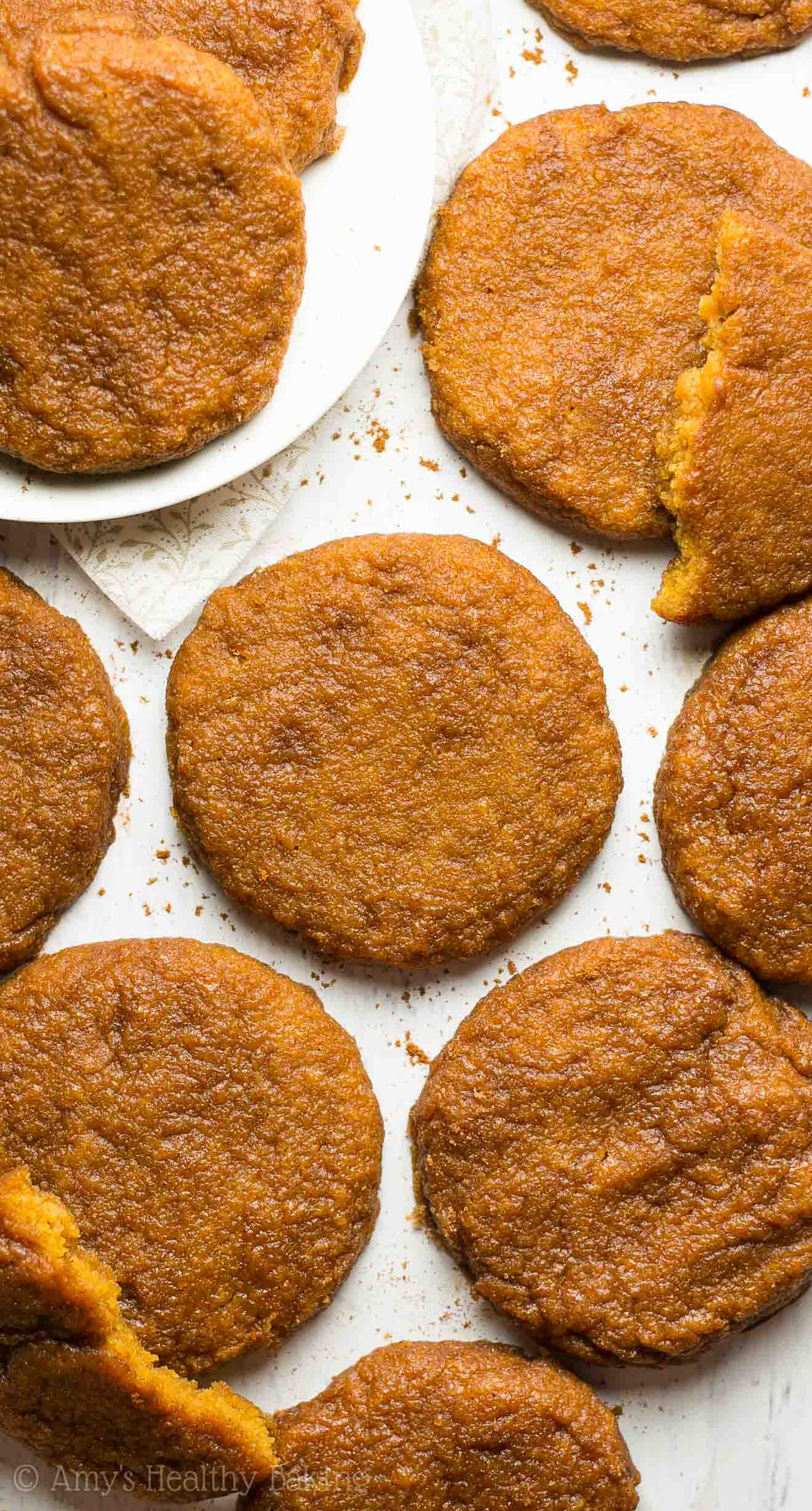 Healthy Pumpkin Pie Snickerdoodles Amy S Healthy Baking