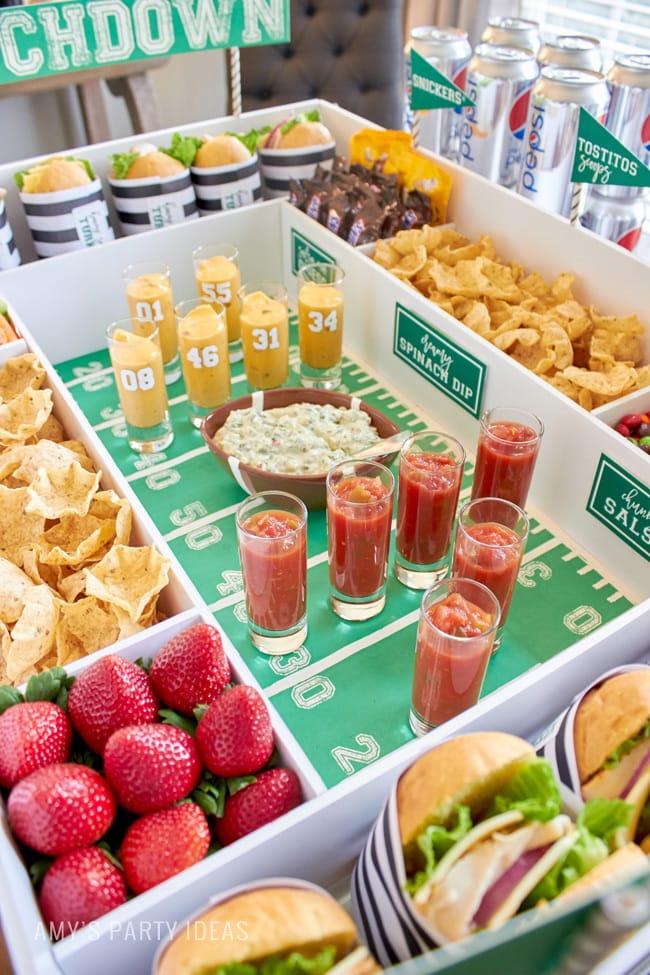 Football Party Craft Ideas