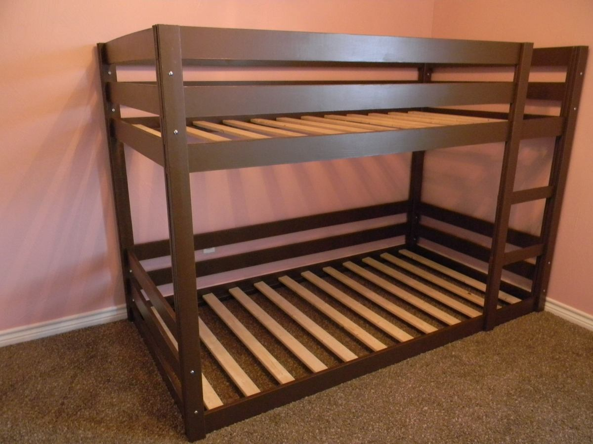 Ana White Modified Classic Bunk Beds Diy Projects