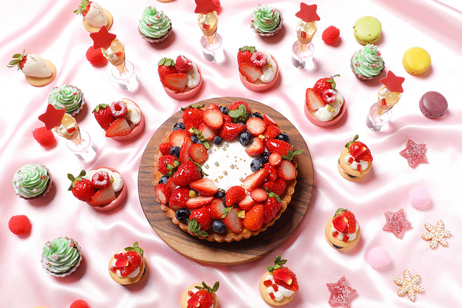 Strawberry Sweets Buffet