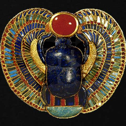 Egypt Dung Beetle Scarab Rebirth Egyptians Mummified
