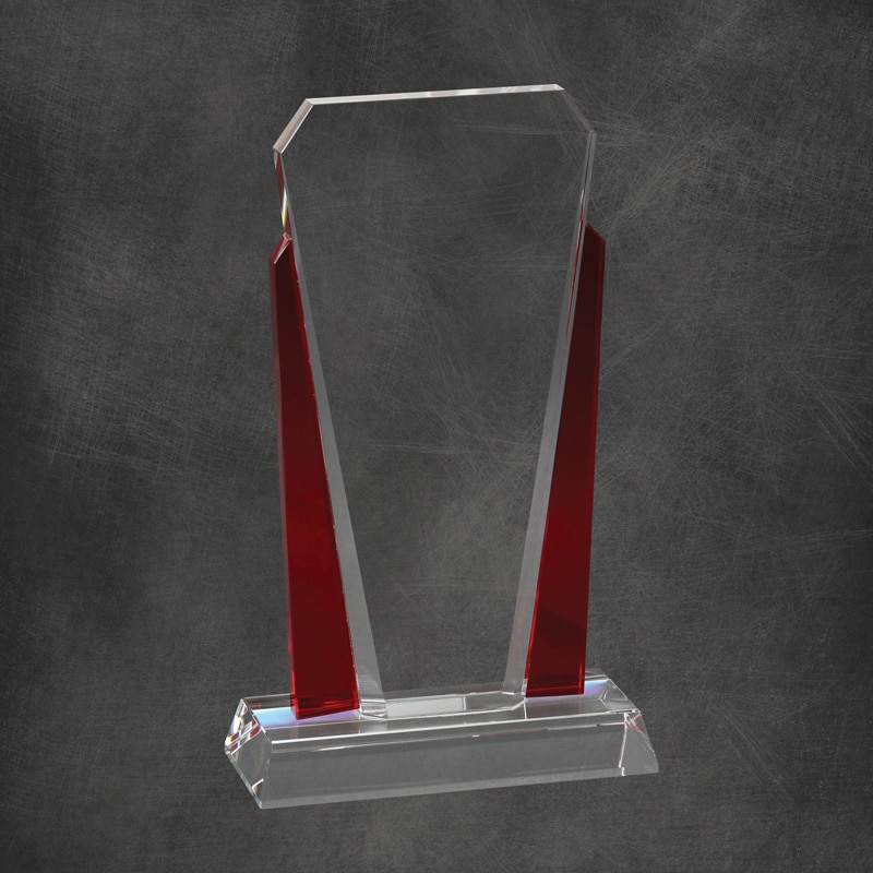 Bethesda Crystal Corporate Award Red Los Angeles