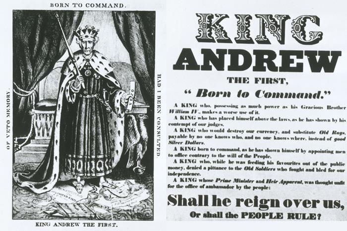 tariff of 1828 political cartoon