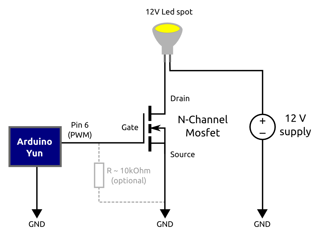Current Limit Switch Circuit A Wiring Diagram For 12v
