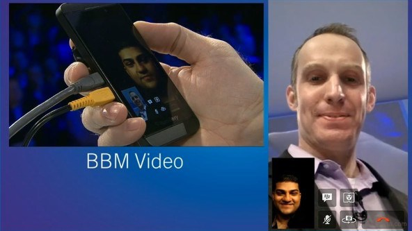 video call bbm android