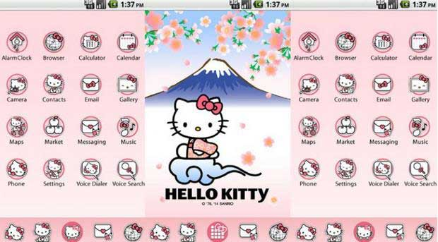 download tema hello kitty hp oppo