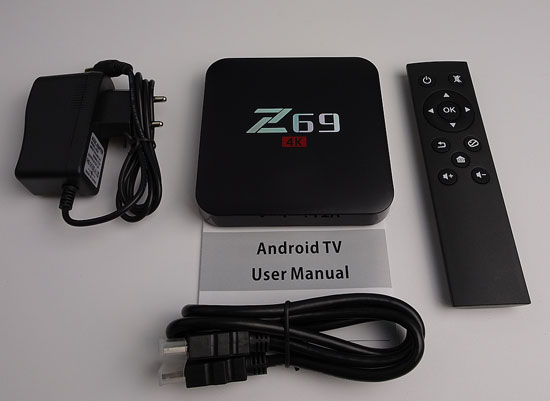 Z69 S905X 4k Android TV Box