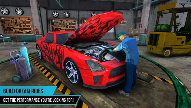 Mobil Mechanic Game Simulator