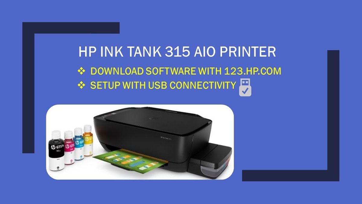Driver Printer HP Ink Tank 315