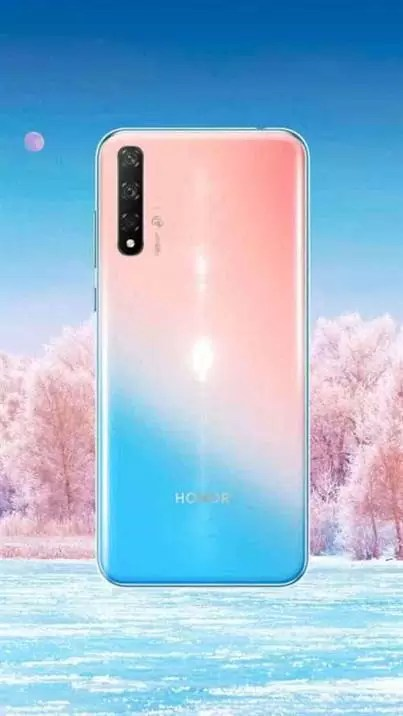 Honor 20 Lite (gradiente de volta)