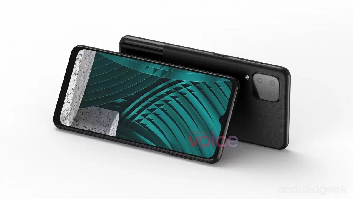 Samsung Galaxy M12 em renderização, revela um design semelhante ao Galaxy A42 2
