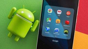 Sistem Android sangat erat kaitannya dengan Google.