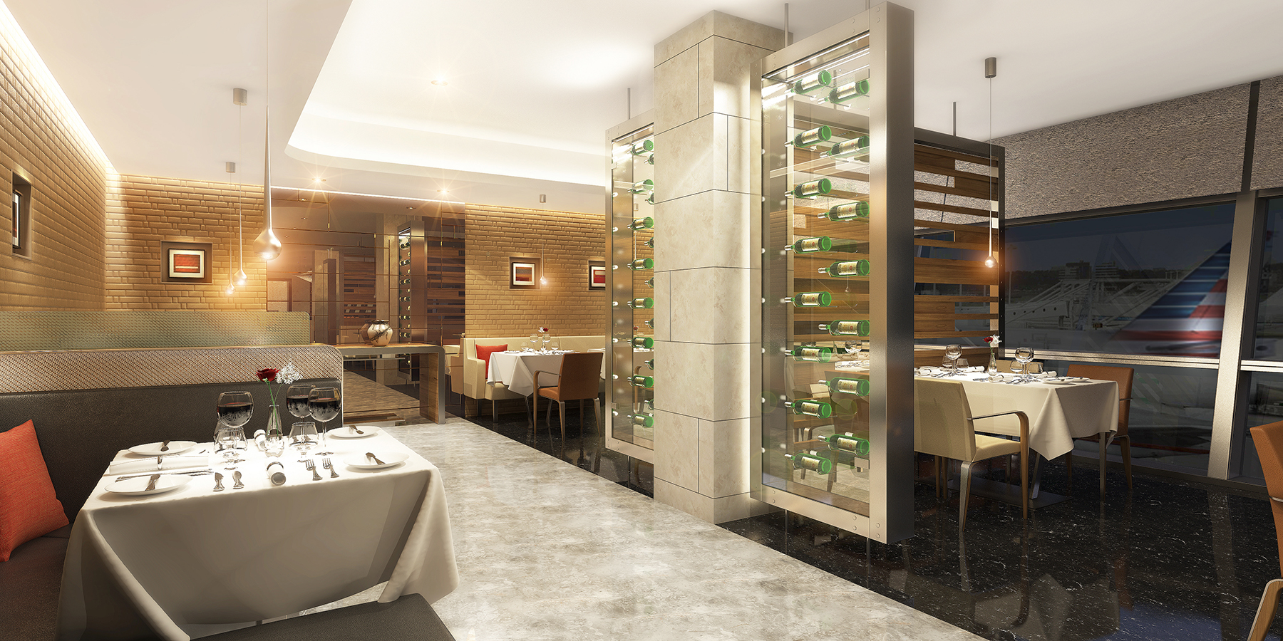 American Airlines Announces New Flagship Lounges And