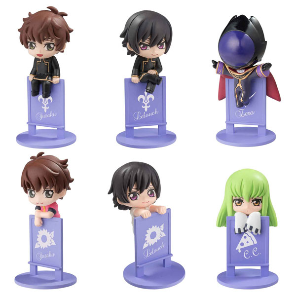 Ochatomo Series - Code Geass: Lelouch of the Rebellion: Ii Darou, Noru zo! Sono Koppu! 8Pack BOX