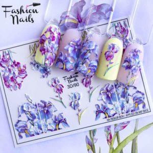 Fashion Nails, Слайдер дизайн 3D-90