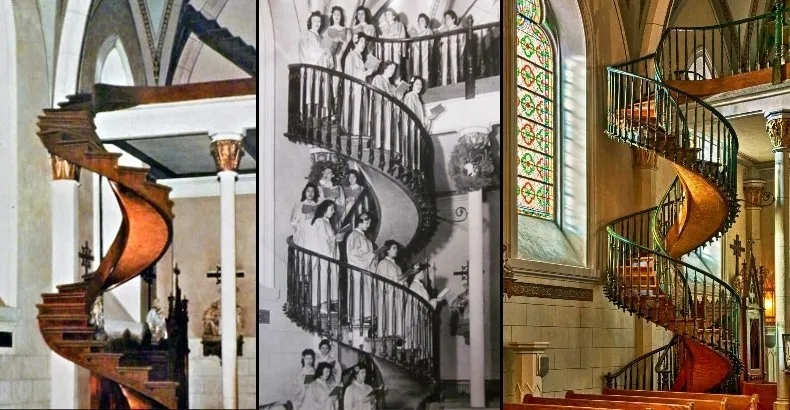The Baffling Mystery Of Loretto Chapel Staircase | Stairway Of Loretto Chapel | Story | Mysterious | Jesus | Wood | Miraculous Staircase