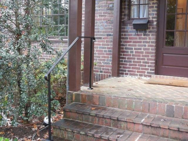 Exterior Railings Antietam Iron Works | Iron Handrails For Outside Steps | Aluminum Railing | Railing Systems | Deck Railing | Front Porch