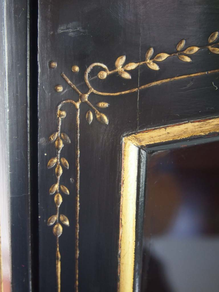 Antique Victorian Aesthetic Movement Music Cabinet
