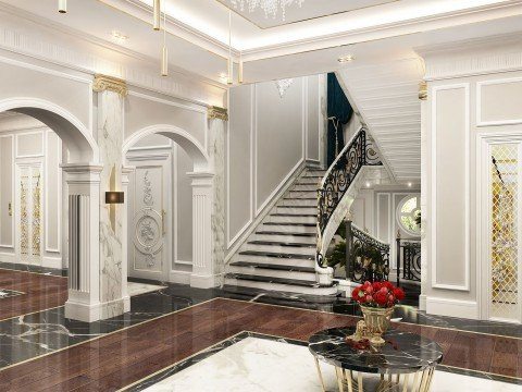Modern Classic Villa Interior Design By Luxury Antonovich