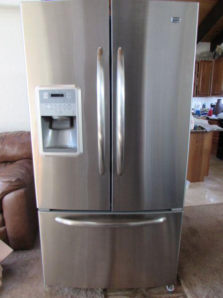 Door French Freezer Refrigerator